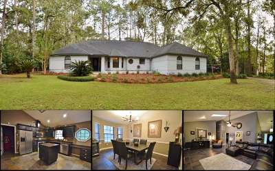 Leon County Single Family Home Reduce Price: 9022 Winged Foot Drive