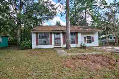 tallahassee Single Family Home For Sale: 4617 Tall Oak Drive