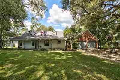 Leon County Single Family Home For Sale: 3276 N Shannon Lakes Drive