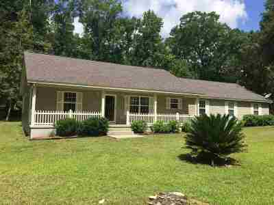 Crawfordville Single Family Home For Sale: 1576 Spring Creek Highway