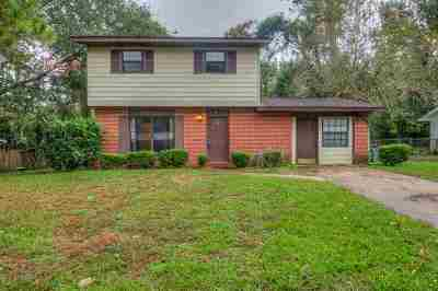 tallahassee Single Family Home For Sale: 1817 Quince Drive