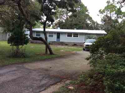 Wakulla County Single Family Home For Sale: 572 Mashes Sands Road