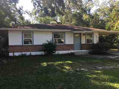 tallahassee Single Family Home For Sale: 511 Castlewood Drive