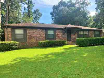 tallahassee Single Family Home For Sale: 3121 Tipperary Drive