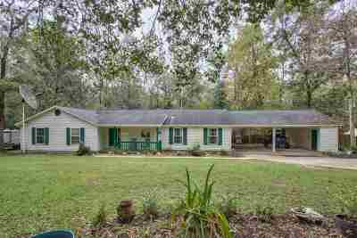 Leon County Single Family Home New: 341 Beaver Lake Road