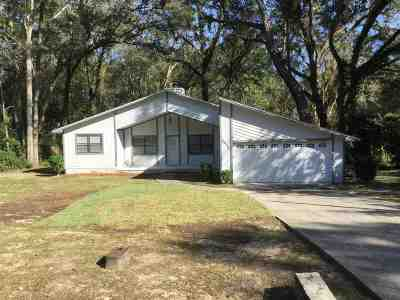 tallahassee Single Family Home For Sale: 3338 Lucky Debonair Trail