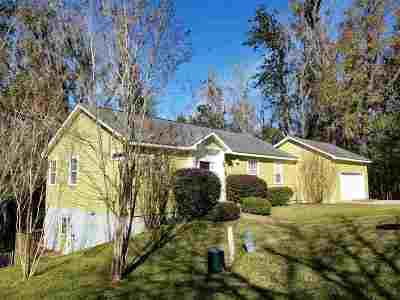 tallahassee Single Family Home For Sale: 1850 Reservation Trail