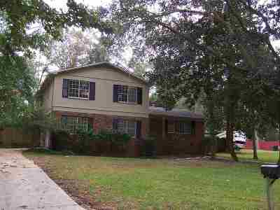 tallahassee Single Family Home For Sale: 3645 Barbary Drive