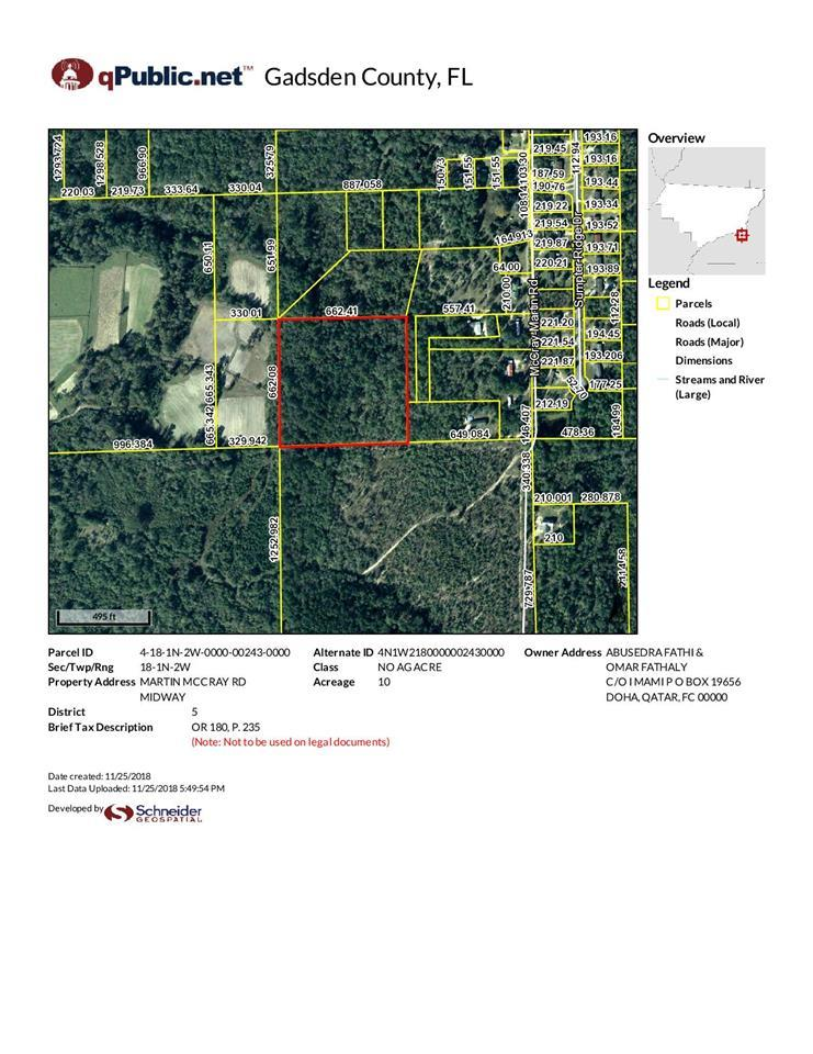 Midway Florida Map.X Martin Mccray Rd Midway Fl Mls 300464 Houses For Rent