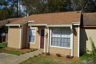 tallahassee Condo/Townhouse For Sale: 1540 Levy Avenue #3