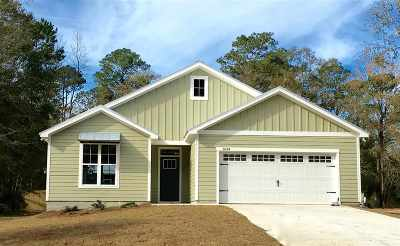 tallahassee Single Family Home For Sale: 3634 Homestead Road
