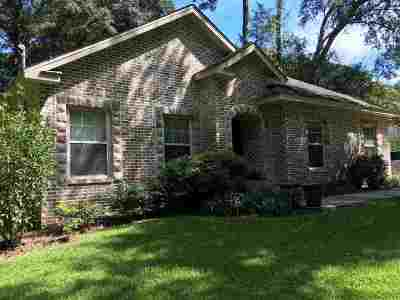 tallahassee Single Family Home For Sale: 3473 Plowshare Road