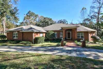 tallahassee Single Family Home For Sale: 7059 Ox Bow Rd