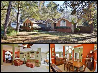 tallahassee Single Family Home For Sale: 12021 Cedar Bluff Trail