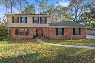 tallahassee Single Family Home For Sale: 5021 Tallow Point Rd.