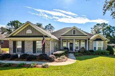 Tallahassee Single Family Home New: 7095 Atascadero Lane