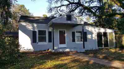 tallahassee Single Family Home For Sale: 2318 Jackson Bluff Road