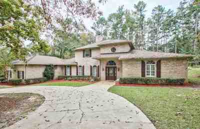 Tallahassee Single Family Home For Sale: 3018 Golden Eagle Drive