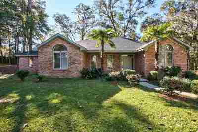 Tallahassee Single Family Home New: 5327 Pembridge Place
