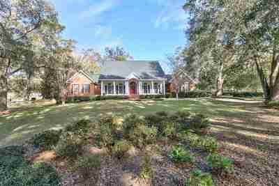 Tallahassee Single Family Home For Sale: 5059 Centennial Oak Circle
