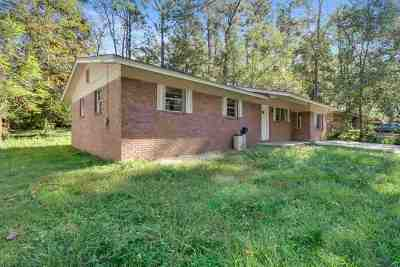 tallahassee Single Family Home For Sale: 3231 Zillah Street