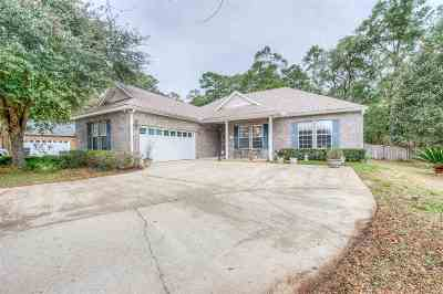 tallahassee Single Family Home For Sale: 6123 Florenzia Terrace