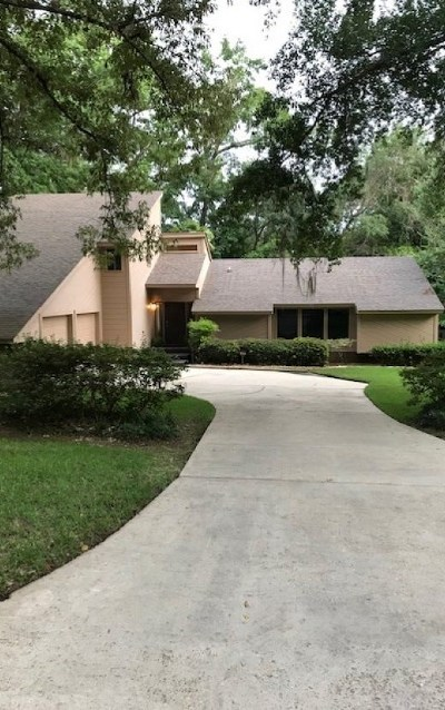 tallahassee Single Family Home For Sale: 2407 Winthrop Road
