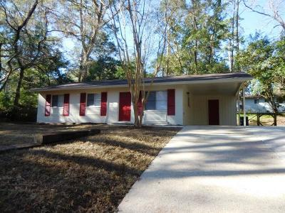 tallahassee Single Family Home For Sale: 1628 Mabry Street