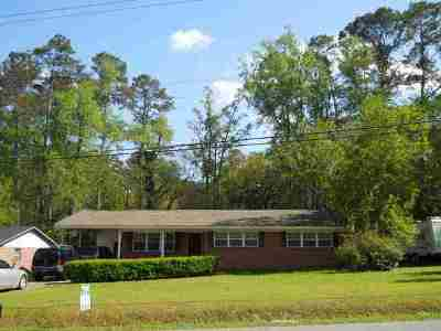 tallahassee Single Family Home For Sale: 2153 Longview Drive