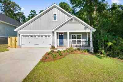 tallahassee Single Family Home For Sale: 2459 Tippecanoe Ridge