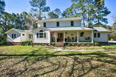 tallahassee Single Family Home For Sale: 7138 Ox Bow Circle