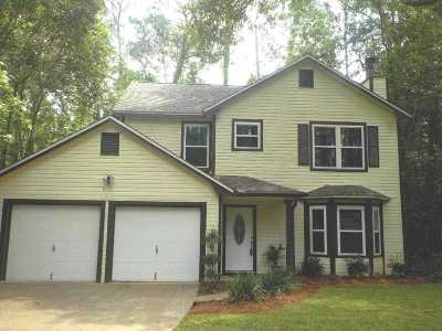 tallahassee Single Family Home Reduce Price: 8121 Holly Ridge Trail