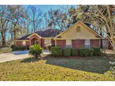 tallahassee Single Family Home For Sale: 5745 Countryside Drive
