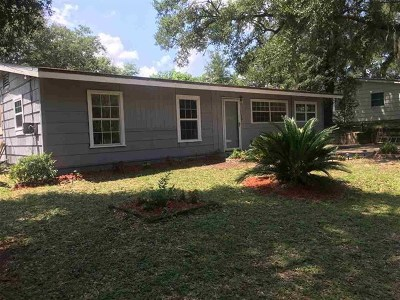 tallahassee Single Family Home For Sale: 3626 S Lakewood Drive
