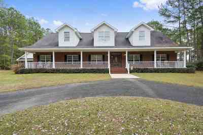 Tallahassee Single Family Home For Sale: 11876 Midnight Trail