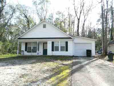 tallahassee Single Family Home For Sale: 3209 Huntington Woods Boulevard