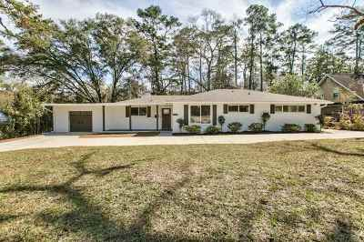 tallahassee Single Family Home For Sale: 1439 Spruce Avenue