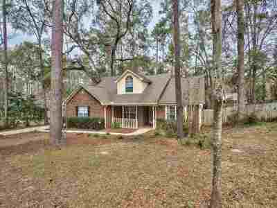Tallahassee Single Family Home New: 1882 Log Ridge Trail