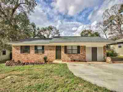 tallahassee Single Family Home For Sale: 2138 Harriet Drive