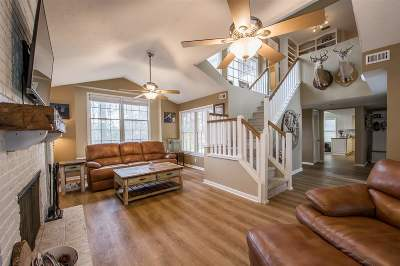 tallahassee Single Family Home For Sale: 7009 Foxglove Lane