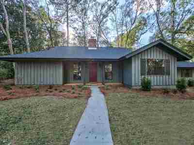 Tallahassee Single Family Home New: 4816 Heathe Drive