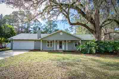 Tallahassee Single Family Home New: 4353 Rabbit Pond Court