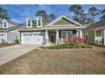 Tallahassee Single Family Home New: 8755 Greenridge Lane