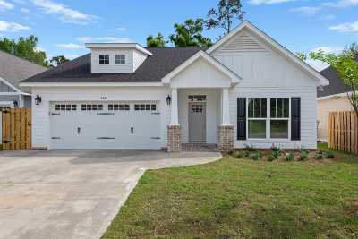 Tallahassee Single Family Home New: 2263 Wabash Trail