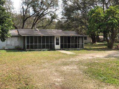 tallahassee Single Family Home For Sale: 24351 Lanier Street