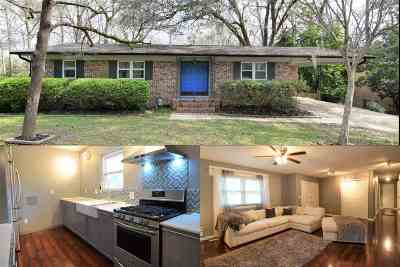 tallahassee Single Family Home For Sale: 1113 Rosewood Drive