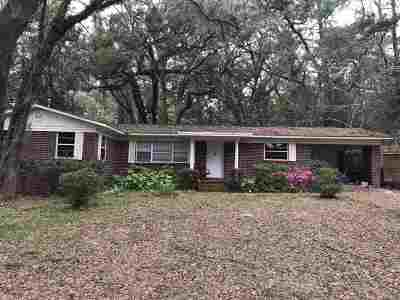 tallahassee Single Family Home Reduce Price: 1722 Sharon Road