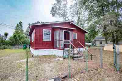 tallahassee Single Family Home For Sale: 4603 Crawfordville Road