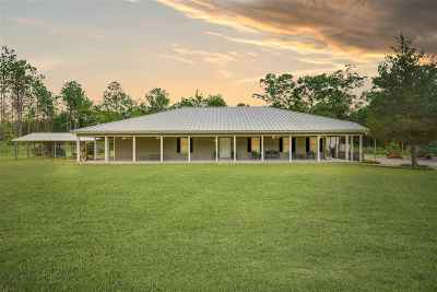 Gadsden County Single Family Home For Sale: 1800 Old Federal Road