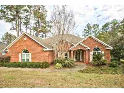 Tallahassee Single Family Home For Sale: 9150 Shoal Creek Drive Drive